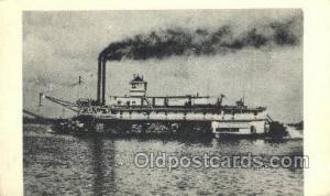 Albama and Confederate Steamer, Steam Boat, Steamboat, Ship, Ships, Postcard ...