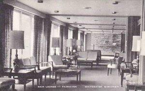 Wisconsin Whitewater Fairhaven Main Lounge Artvue
