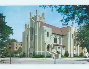 Pre-1980 CHURCH SCENE Hays Kansas KS p4323