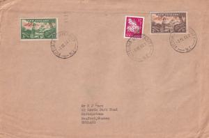 Victoria University 1966 New Zealand Postmark Frank