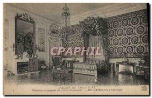Old Postcard Palais De Compiegne House Sunset Marie Antoinette