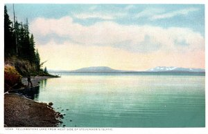 Yellowstone National Park Yellowstone Lake From West Side Of Stevenson's...