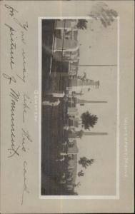 Winterport ME Cemetery c1905 Real Photo Postcard rpx