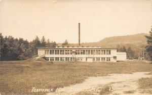 LP49   Dixfield Maine Toothpick Factory   RPPC Postcard