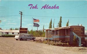 Tok Alaska Information Center by Highway~1968 Postcard