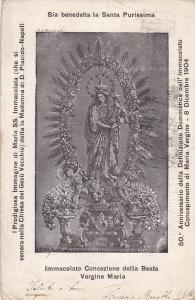 Immacolata Concezione della Beata Vergine Maria , Italy , 1904