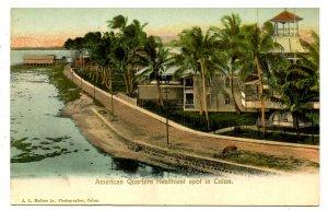 Panama - Colon. American Quarters Healthiest Spot