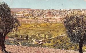 Israel Jerusalem Vue Generale Paysage 1910