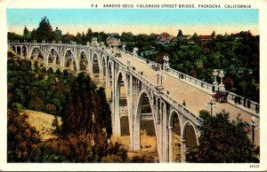 California Pasadena Arroyo Seco Colorado Streeet Bridge