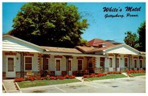 Pennsylvania Gettysburg , White's motel