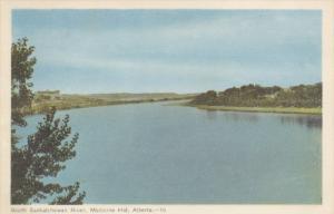MEDICINE HAT, Alberta, Canada, 1900-1910's; South Saskatchewan River
