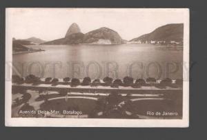 090338 BRAZIL Rio de Janeiro Avenida Beira-Mar Botafogo Old PC