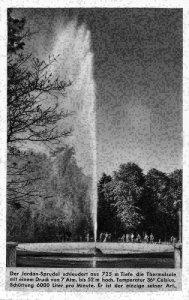 Der Jordan Sprudel Tiefe die Thermalsole Postcard