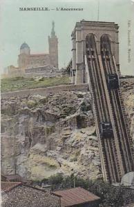 L'Ascenseur, Marseille (Bouches du Rhone), France, 1900-1910s