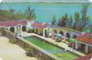 Bermuda Hamilton Castle Harbour Hotel Swimming Pool 1954