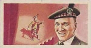 Brooke Bond Tea Vintage Trade Card Famous People 1967 No 27 Sir Harry Lauder