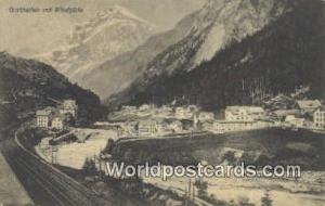 Windgalle Germany, Deutschland Postcard Gurtnellen Windgalle Gurtnellen