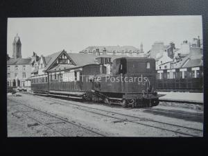 Isle of Man Manx Transport RAILWAY ENGINE No.12 HUTCHINSON 1939 c1980's Postcard