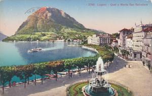 Quai E Monte San Salvatore, LUGANO (Ticino), Switzerland, 1900-1910s