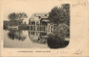 CPA Souvenir de CHATEAUNEUF-sur-CHER (26782)