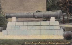 Spanish cannon captured at Santiago , HAGERSTOWN , Maryland , 00-10s