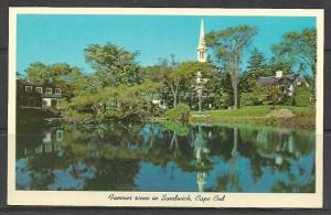 Massachusetts, Sandwich - Old Water Mill & Pond - [MA-183]