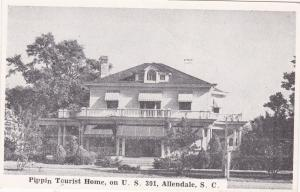 ALLENDALE , South Carolina, 1930s ; Pippin Tourist Home