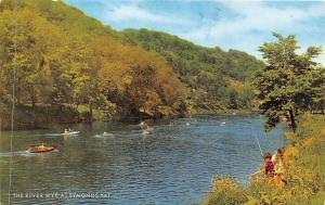 The River Wye at Symonds Yat Boats