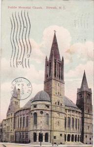 Peddie Memorial Church Newark New Jersey 1910