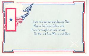 Service Flag Card