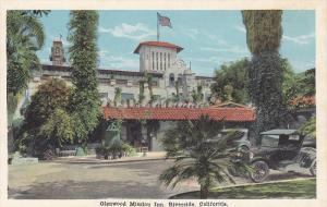 Classic Car, Entrance to Glenwood Mission Inn, Riverside, California, 00-10´s