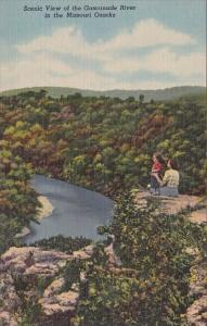 Missouri Ozarks Scenic View Of The Gasconade River In The Missouri Ozarks