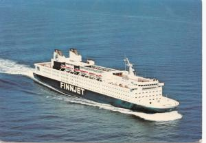 FINNJET, 1977 used Postcard