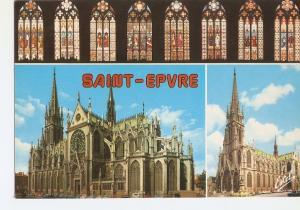 Postal 031629 : Nancy (Meurthe-et-Moselle). Leglise Saint-Epvre et ses vitraux