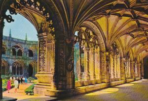 Portugal Lisboa Belem Claustro do Mosteiro dos Jeronimos