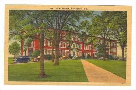 High School, Newberry, South Carolina, 30-40s