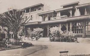 Fasani Grivas Cairo Apartment Block Vintage House Egyptian Postcard