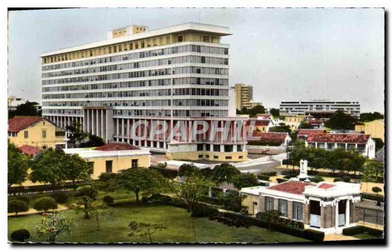 Modern Postcard Dakar Building Services From The General Government