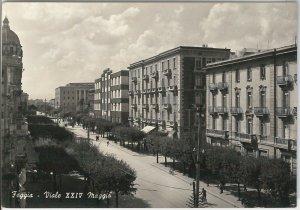 49730   CARTOLINA d'Epoca - FOGGIA citta' : Viale XXIV Maggio 1954
