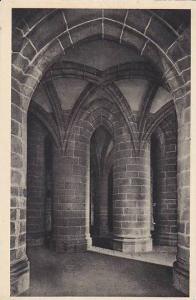France Mont-Saint-Michel Crypte des gros piliers