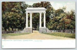 Arlington Virginia~Arlington National Cemetery~Sheridan Gate~c1905 TUCK