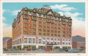 South Dakota Rapid City Alex Johnson Hotel Curteich