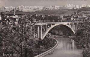 Switzerland Bern un die Alpen 1917 Photo