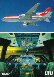 LTU airline´s L-1011-500 Airplane , PU-1987