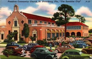 Florida St Petersburg Pasadena Community Church 1952