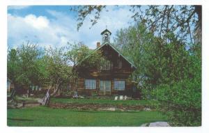 Trapp Family Lodge Stowe VT 1977 Chrome Postcard