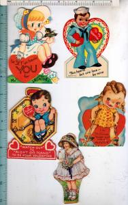 5 - Valentine Cards, Die-Cuts