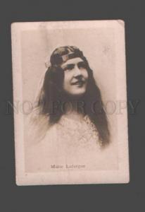 097480 Marie LAFARGUE French OPERA Soprano SINGER old PHOTO