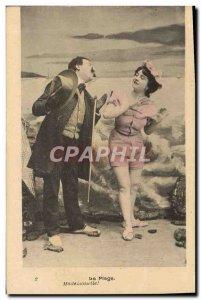 Old Postcard Fantaisie Beach