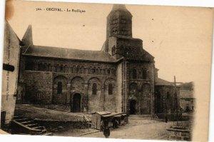 CPA ORCIVAL - La Basilique (220975)